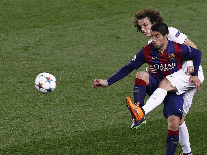 """David Luiz : """"on est tombé sur meilleur que nous"""""""