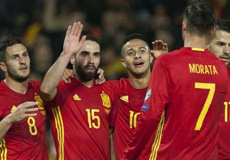 España no tuvo piedad con Macedonia