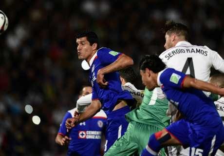 In Beeld: Cruz Azul - Real Madrid: 0-4