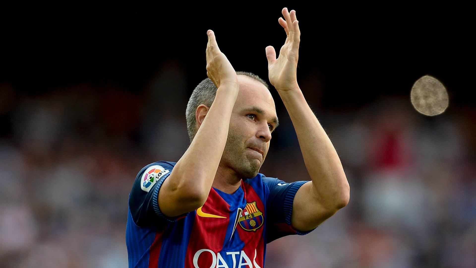Andres Iniesta Barcelona Joan Gamper