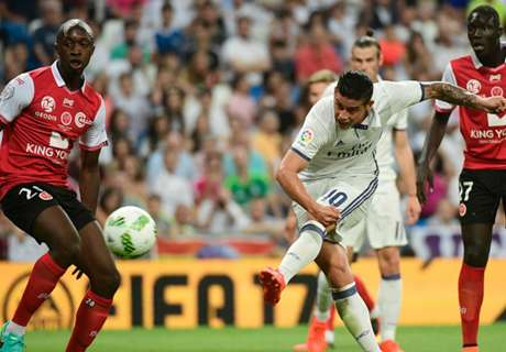 Five-star Real overcome Reims