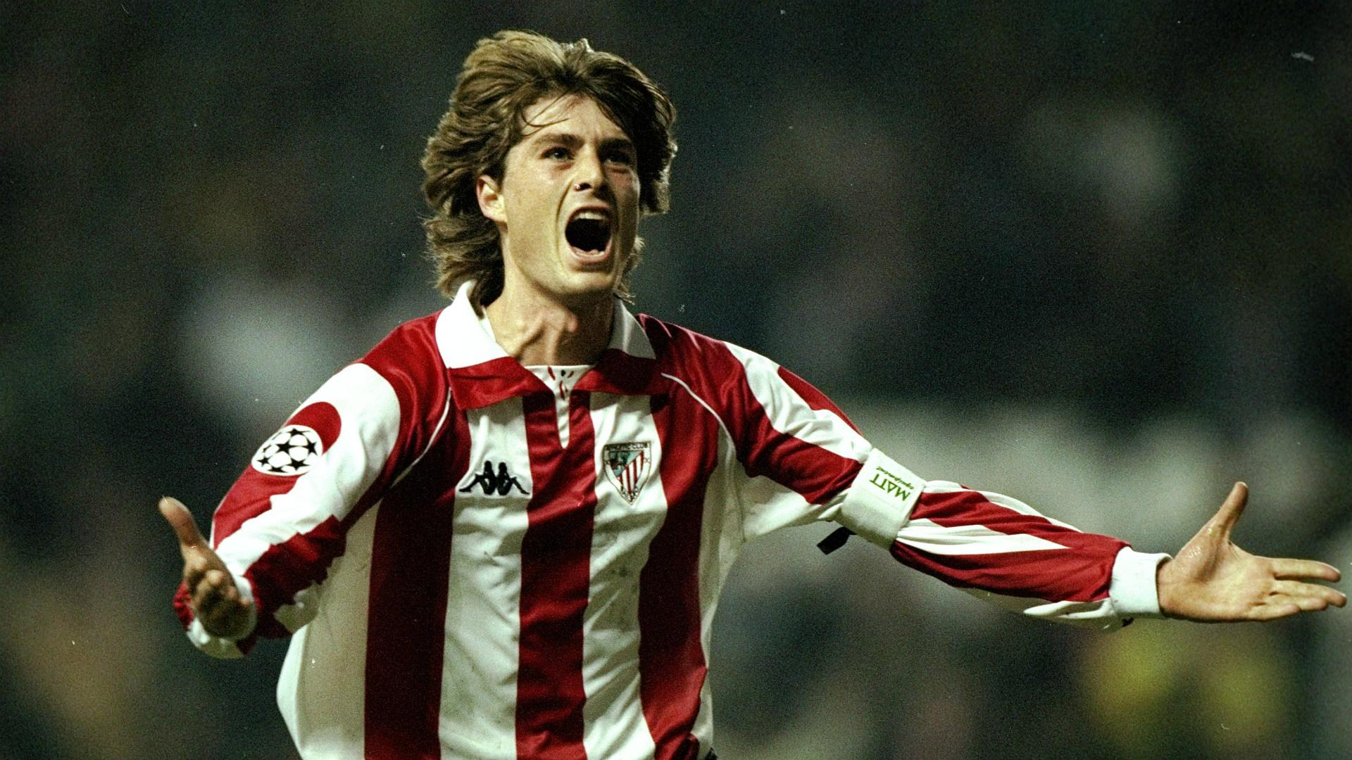 Julen Guerrero Athletic Bilbao Champions League 091298