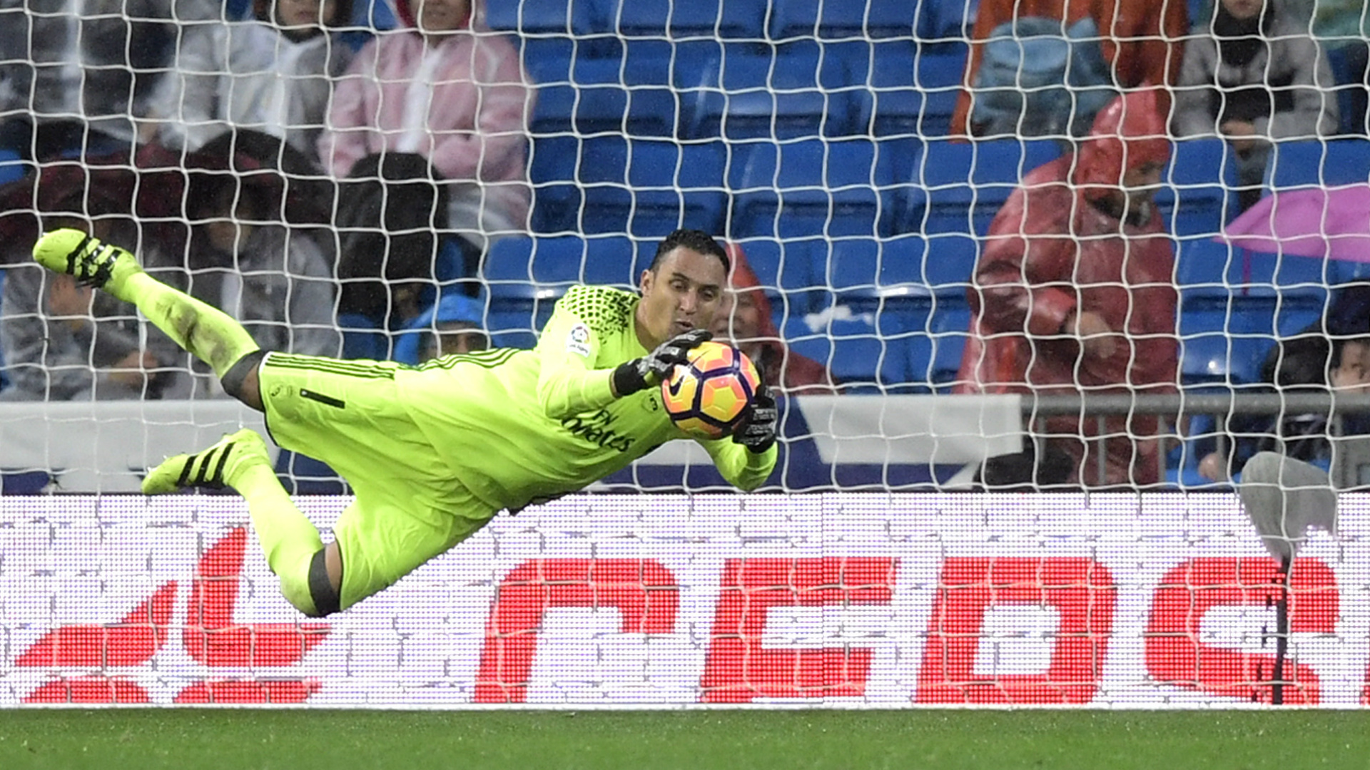 keylor navas sporting real madrid LaLiga