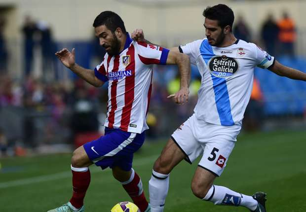 Atletico 2-0 Deportivo: Saul and Turan cut Madrid lead