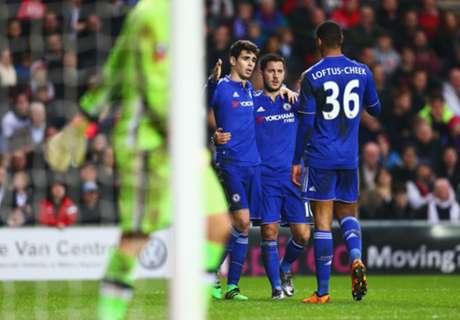 Chelsea goleó y avanzó en la FA Cup