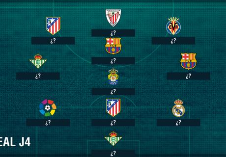 El XI ideal de La Liga: fecha 4