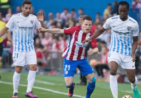 Atlético doelpuntrijk langs Malaga