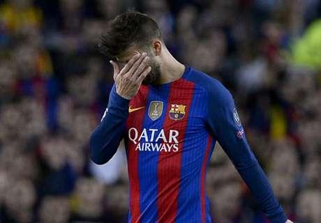 Piqué kiakadt a bírókra a Real-siker után