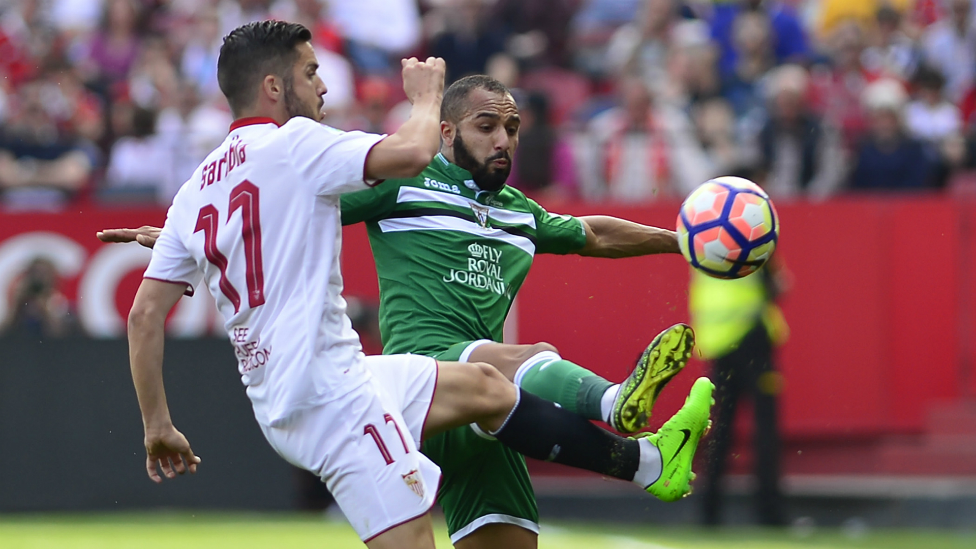 Pablo Sarabia Nabil El Zhar Sevilla Leganes La Liga