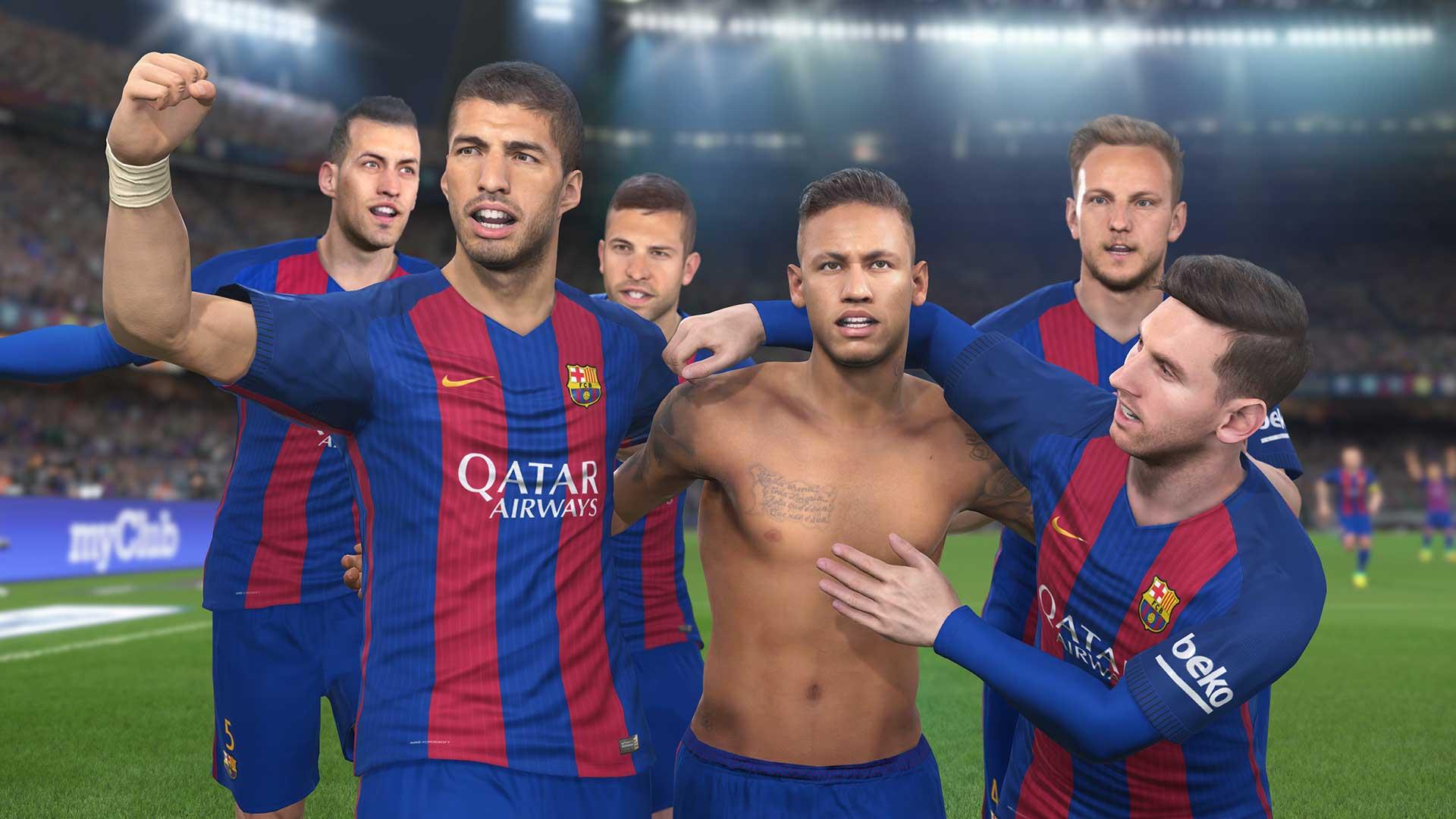 Copertina PES 2017, a tutto Barcellona: Messi, Neymar e Suarez