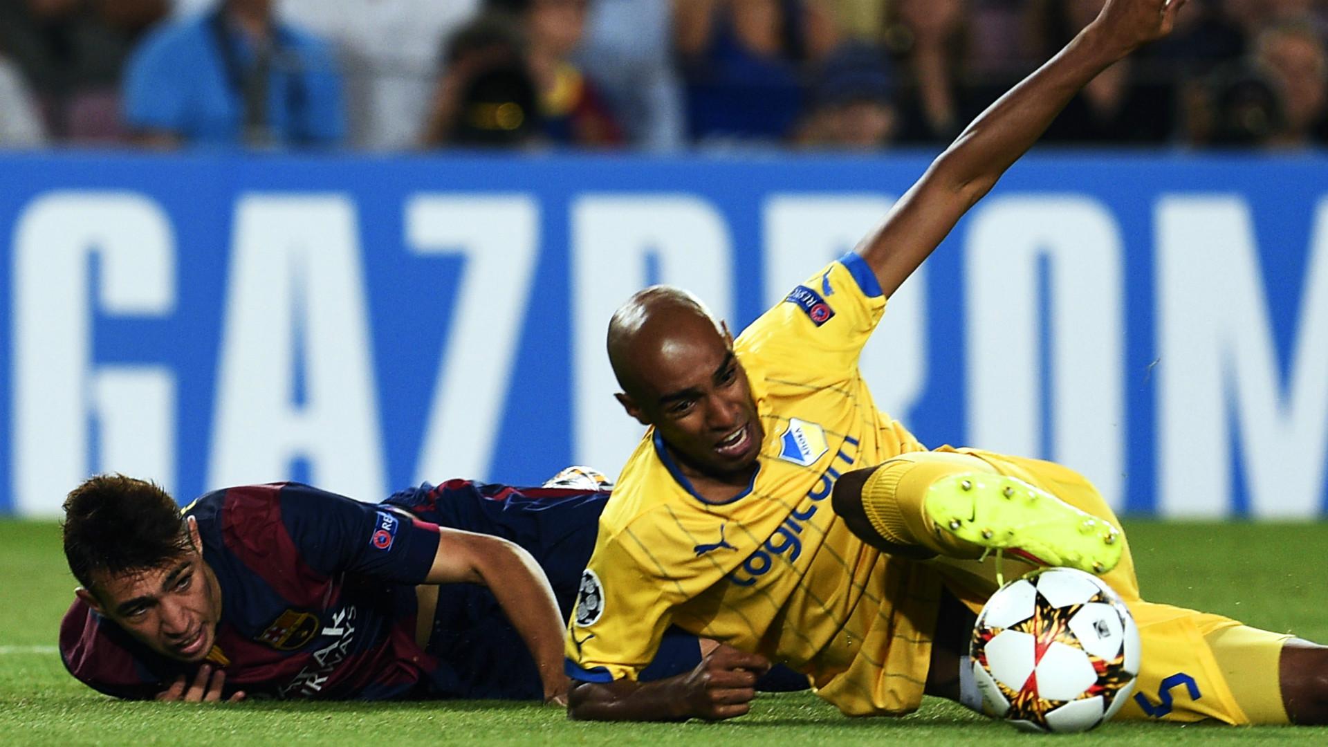 Munir Barcelona Carlao APOEL UEFA Champions League