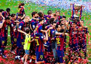 Barcelona were crowned champions of La Liga for the fifth time in seven seasons after edging out fierce rivals Real Madrid by two points - but which players deserve a spot in our select XI for their performances in Spain's top flight?