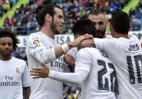 Getafe-Real Madrid 1-5, résumé de match