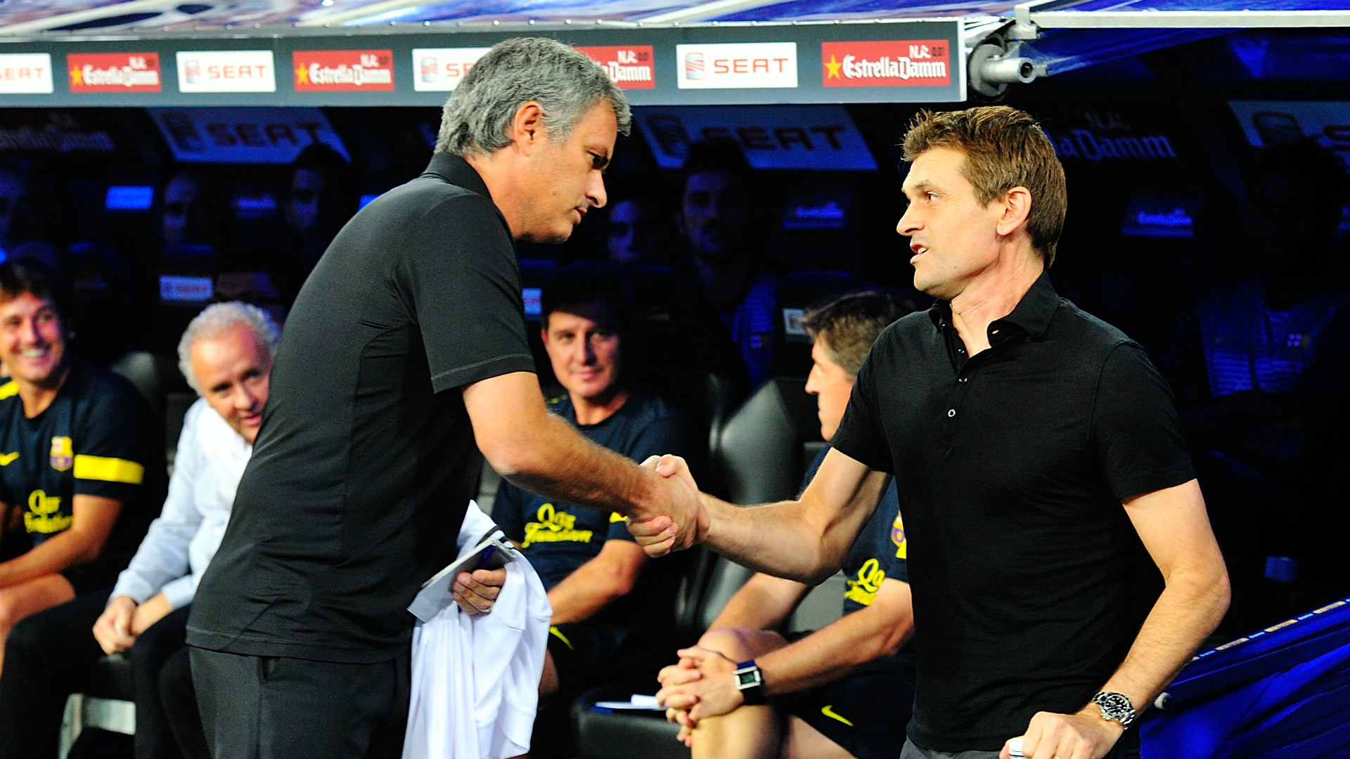 Jose Mourinho Tito Vilanova Real Madrid Barcelona
