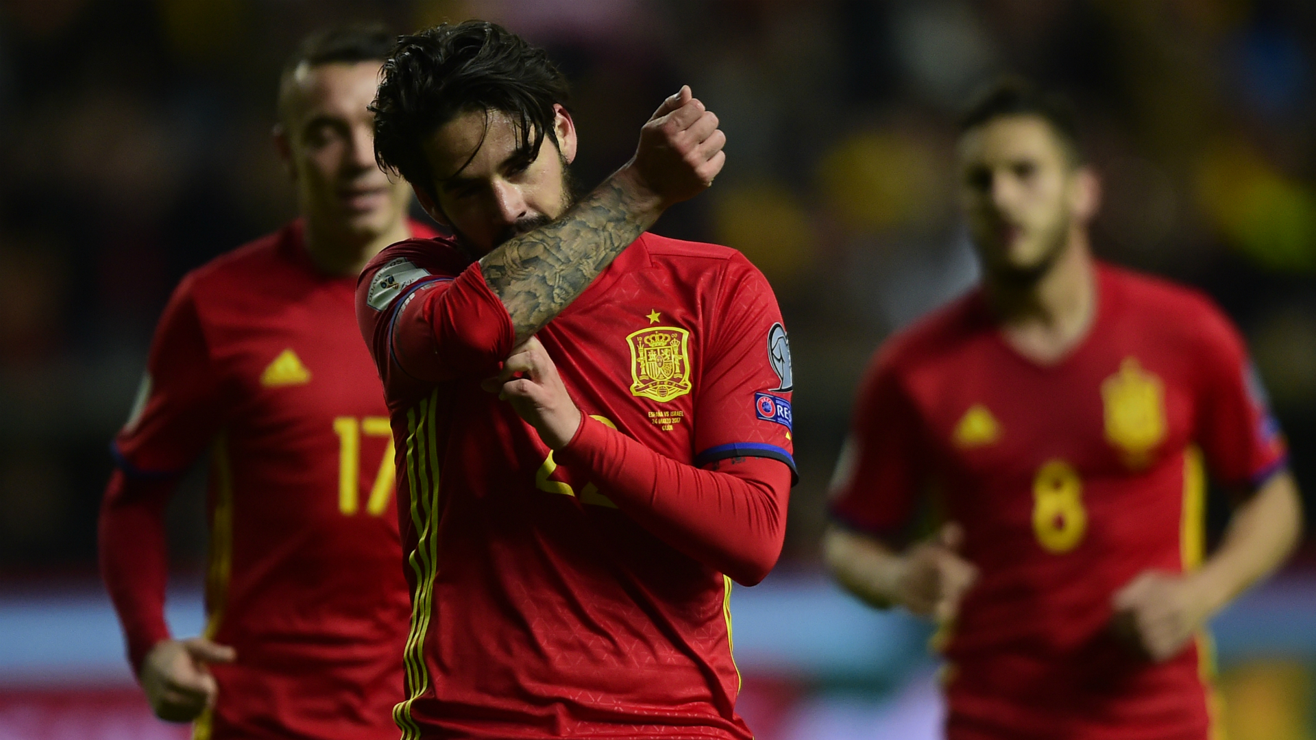 Isco Spain Israel WC Qualifier