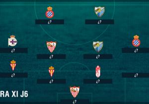 Goal armó un equipo con los futbolistas que no mostraron su mejor versión durante el fin de semana en España.