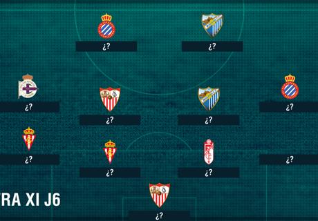 El contra XI de la fecha 6 de La Liga