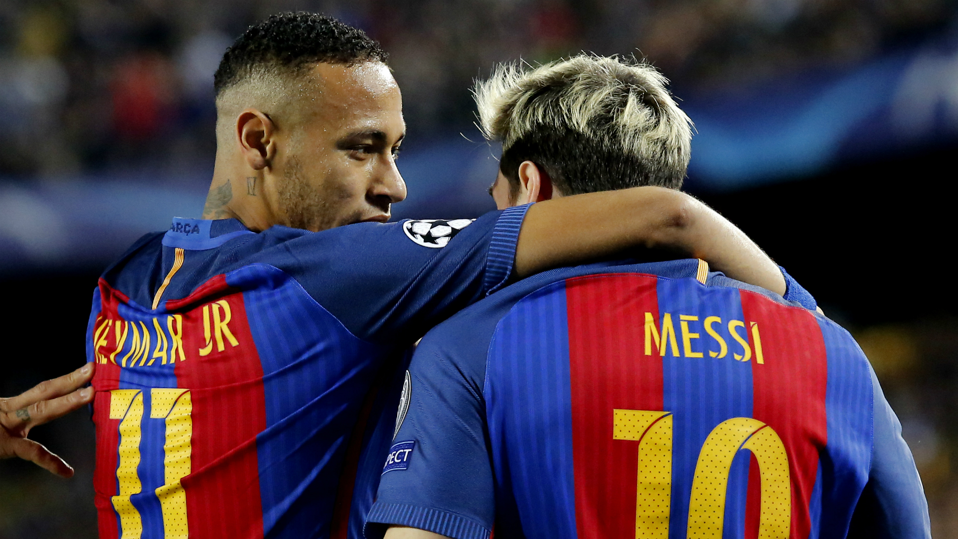 Image result for neymar return barcelona messi
