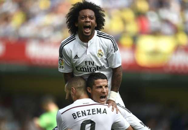 Villarreal 0-2 Real Madrid: Modric & Ronaldo sink Yellow Submarine