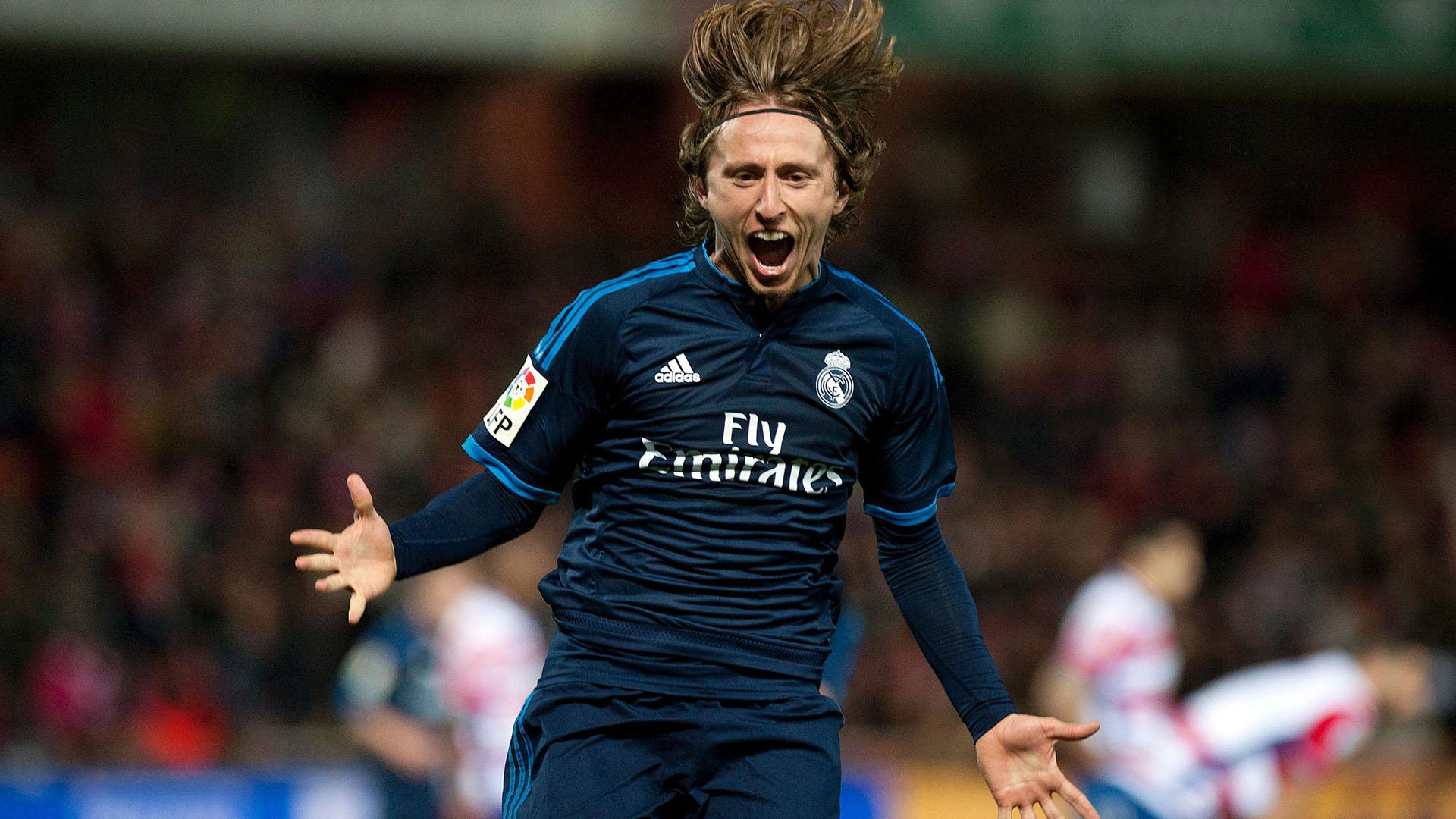 Luka Modric Granada Real Madrid 07022016