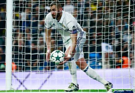 Benzema scores twice as Real draw