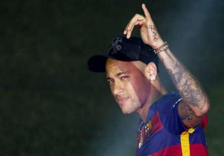 'Neymar already at Messi & CR7's level'