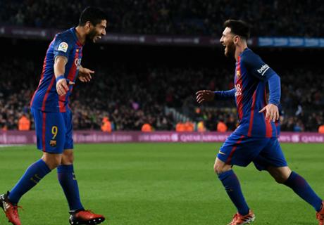 Messi y Suárez, en el XI ideal de Europa