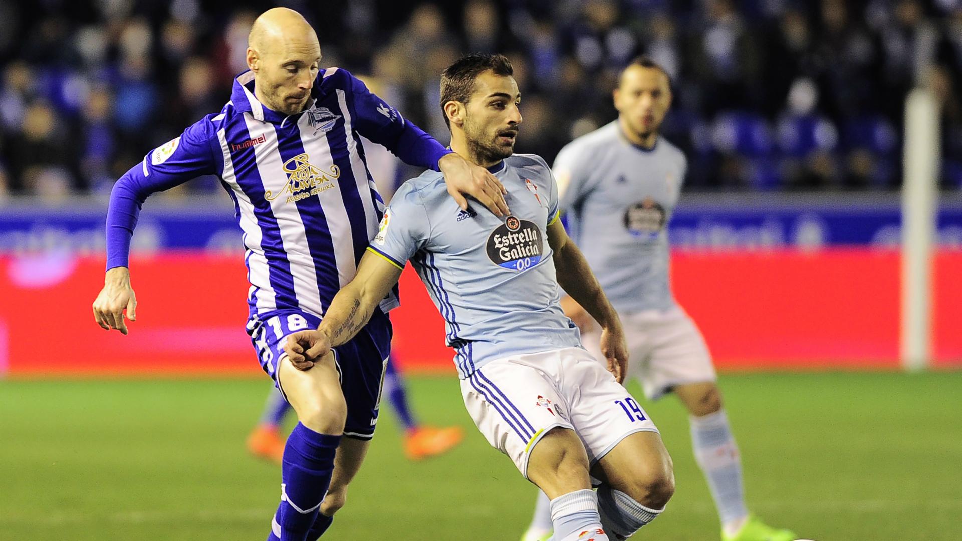 Toquero Jonny Castro Alaves Celta Copa del Rey