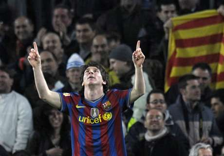 Messi y otro número histórico
