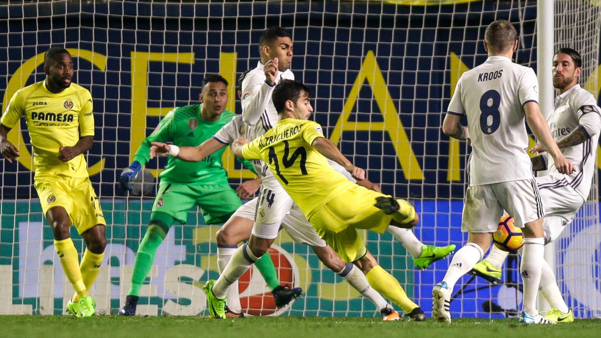 Manu Trigueros Villarreal Real Madrid LaLiga 26022017