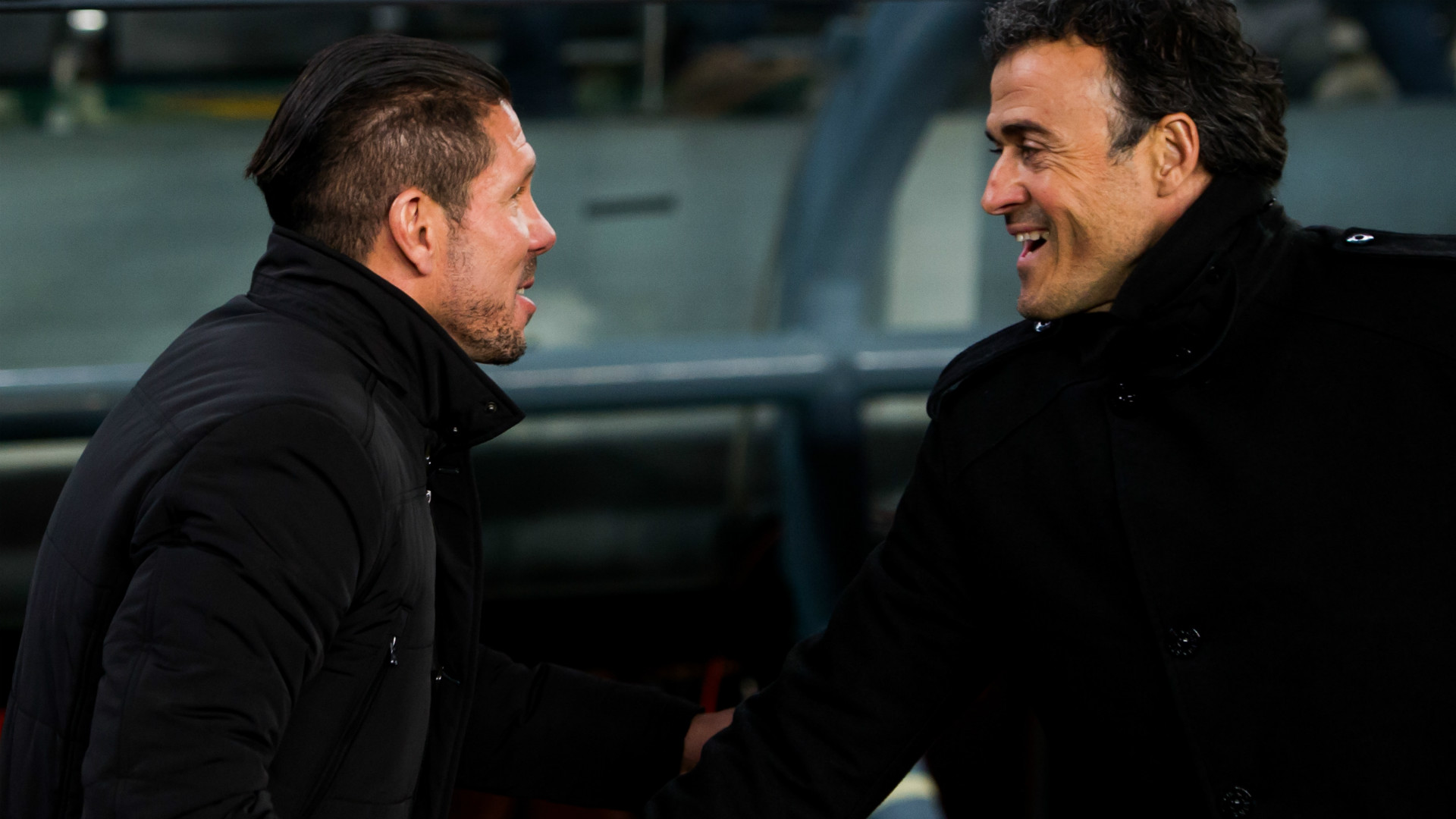 Luis Enrique Diego Simeone Barcelona Atletico Madrid