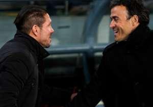 Simeone y Luis Enrique han vuelto a verse en LaLiga tras haberse medido recientemente en las semifinales de la Copa del Rey. Un duelo desigual por los resultados globales favorables al míster asturiano y curiosamente propicios para el argentino en la C...