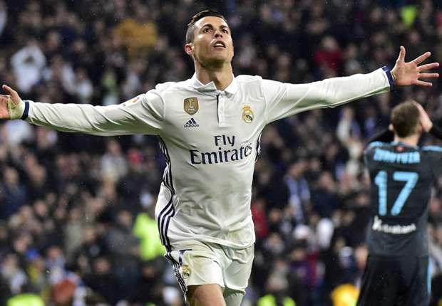 Cristiano Ronaldo instantly regrets Diego Lopez joke