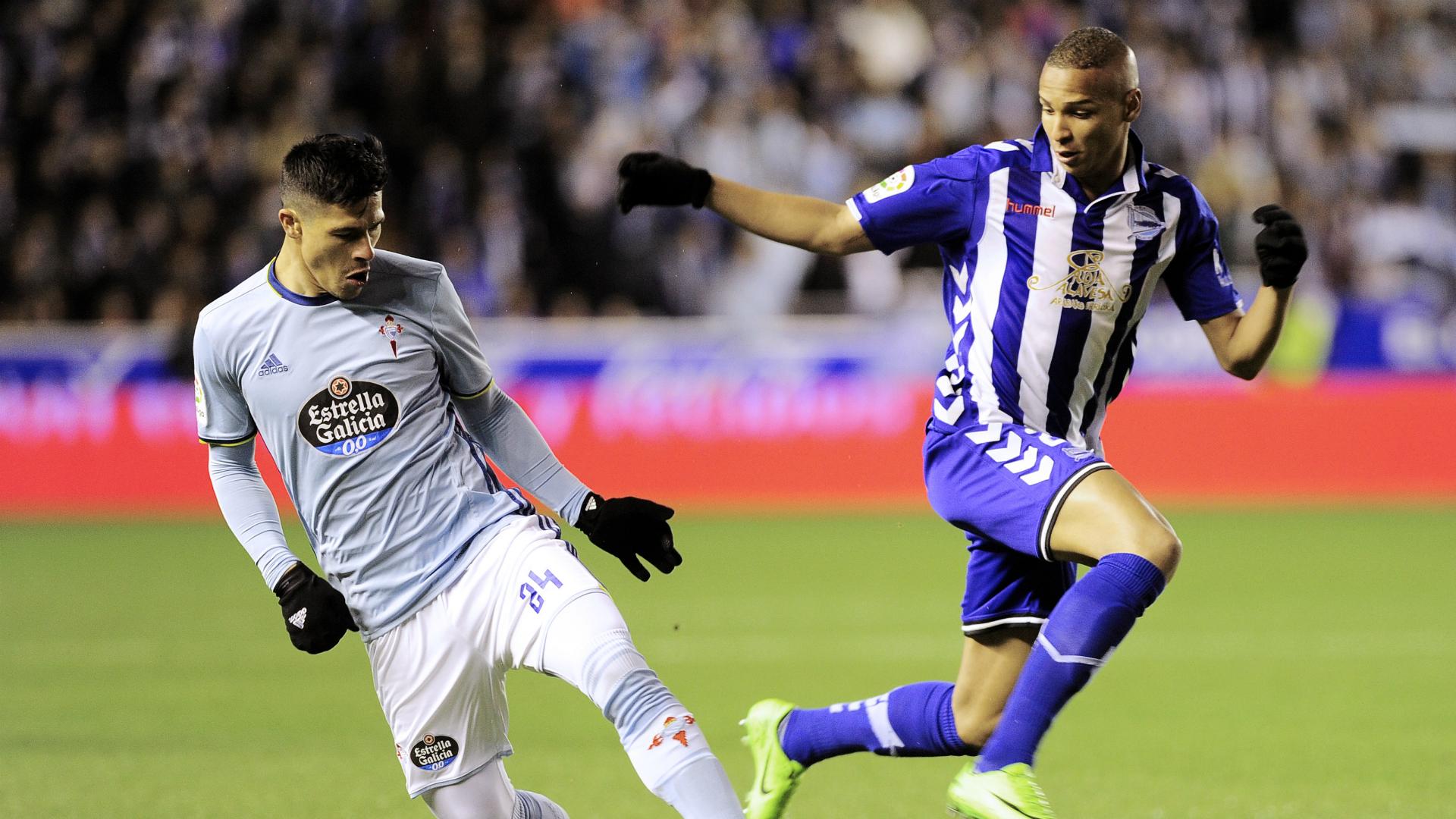 Deyverson Roncaglia Alaves Celta Copa del Rey