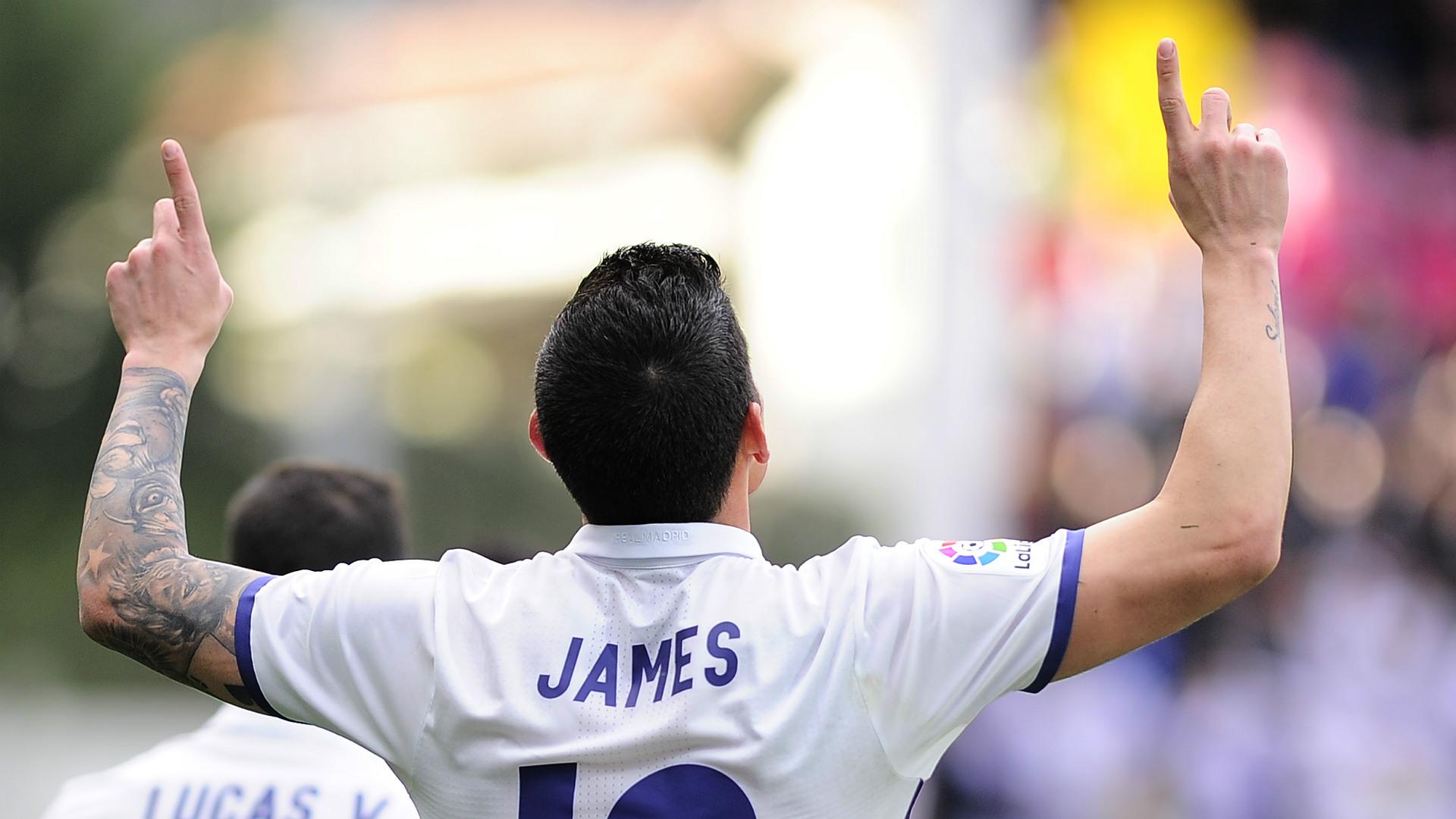 James Rodriguez Eibar Real Madrid LaLiga 04032017