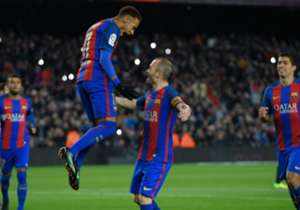 11) Barcelona 3-1 Athletic | Copa del Rey | 11/01/2017 | Tras dos meses de sequía, el brasileño se sacó la mufa de penal y puso el 2-0 ante los vascos.