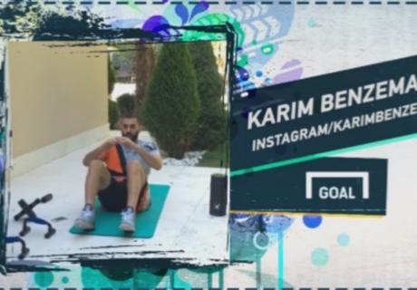 Benzema dans le Social Snap du jour