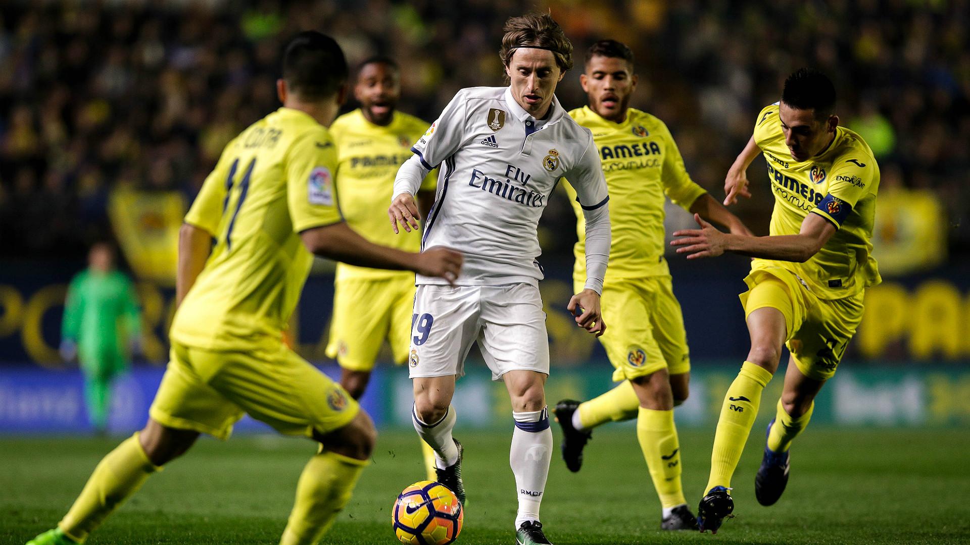 Luka Modric Villarreal Real Madrid LaLiga 26022017