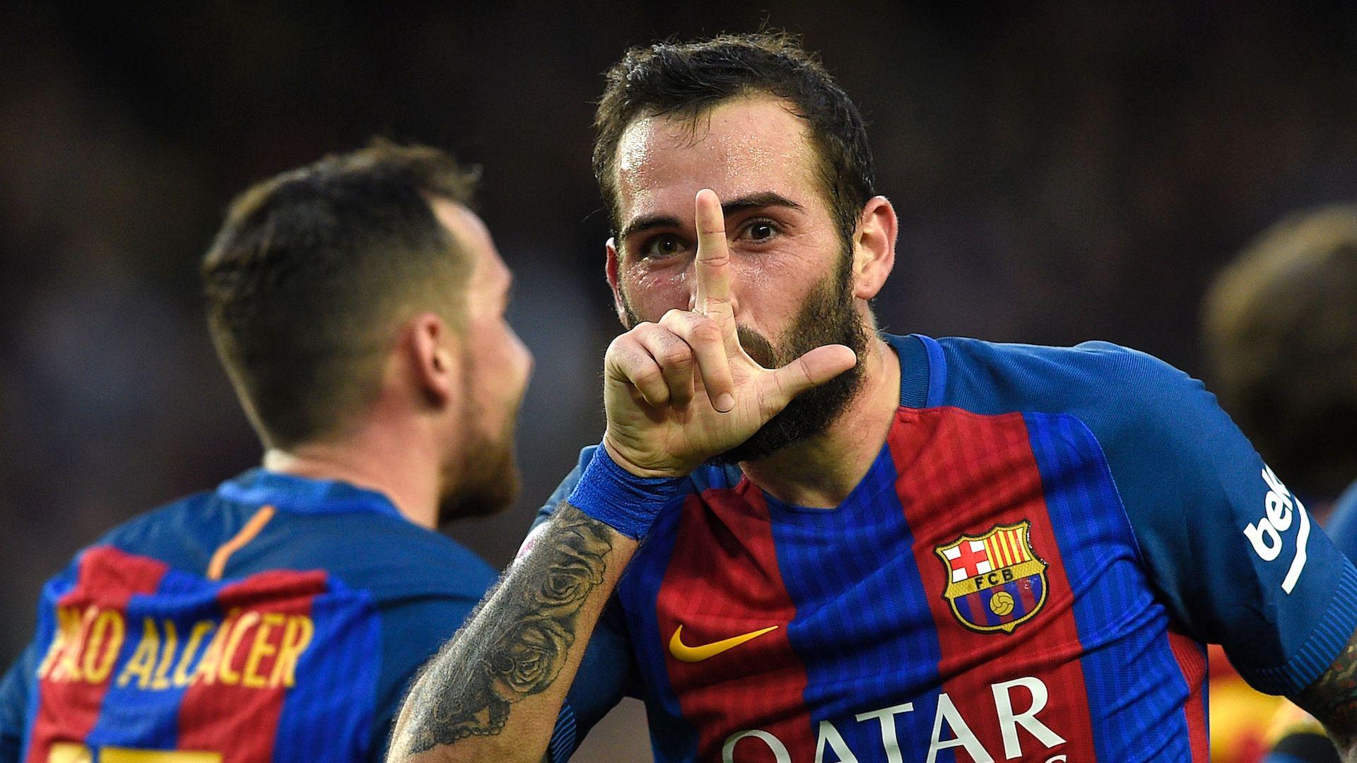 Aleix Vidal Neymar Messi FC Barcelona Athletic LaLiga