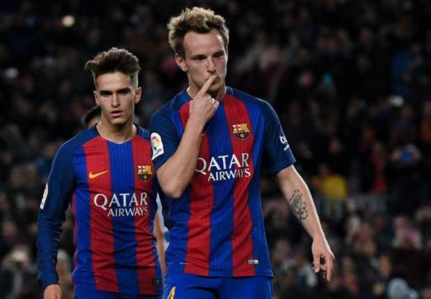 راكيتيتش يُنهي الجدل حول مستقبله مع برشلونة -