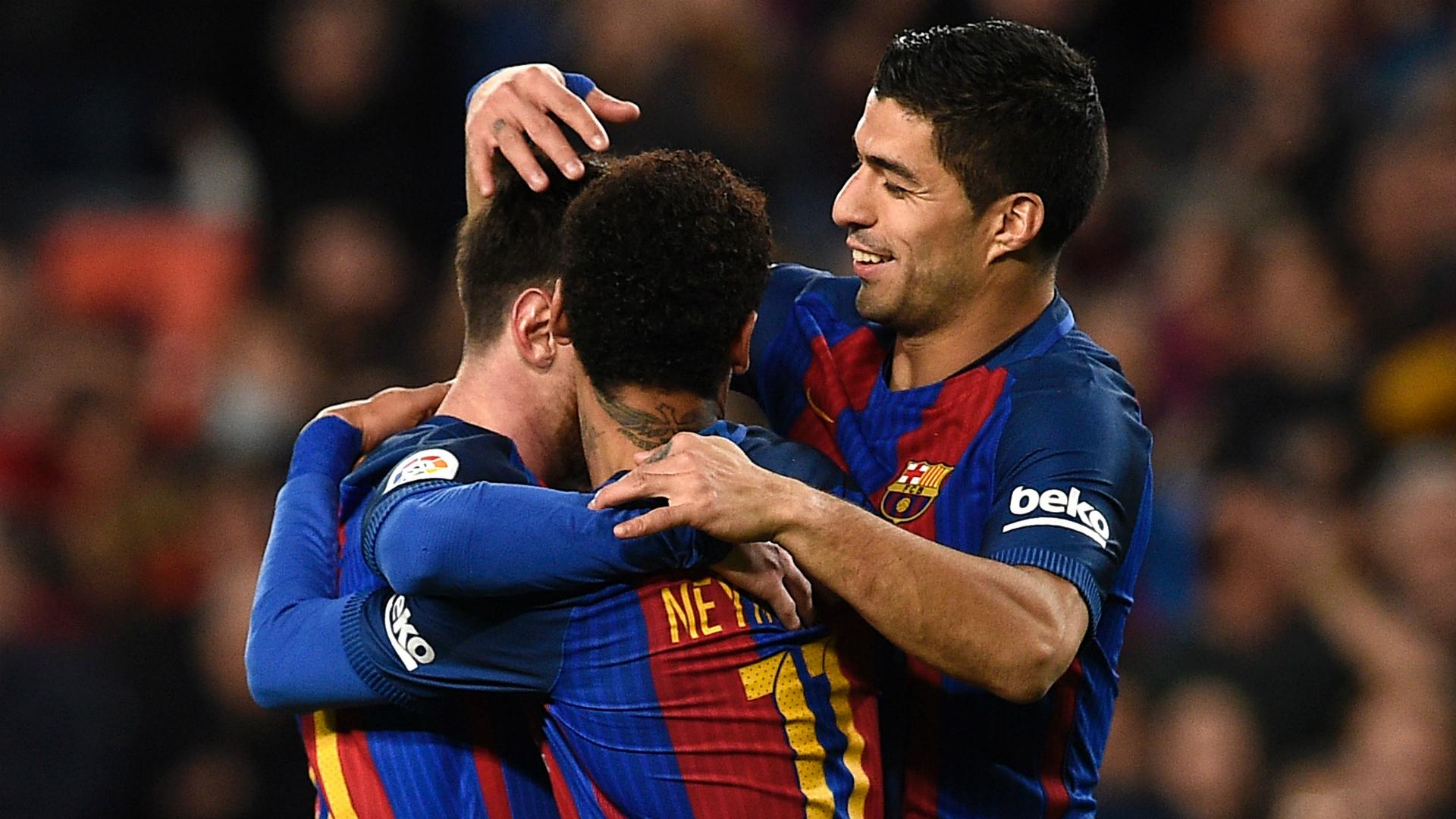Lionel Messi Neymar Luis Suarez Barcelona Celta La Liga