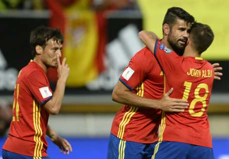 Spain thrash Liechtenstein 8-0