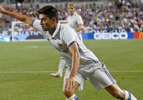 Enzo Zidane emula a su padre