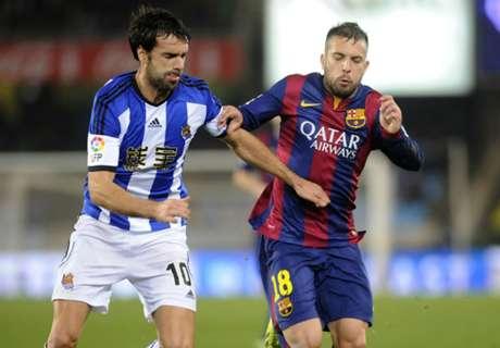 Barcelona tropezó en Anoeta