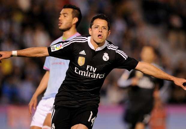 Celta Vigo-Real Madrid 2-4, Chicharito et le Real enchainent