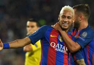 Quantos gols fará Neymar nesta temporada? Será que o brasileiro supera seus companheiros de Barcelona?