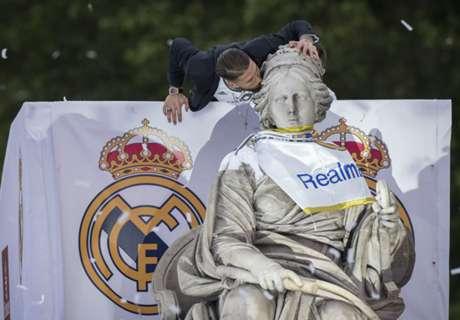 IN PICS: Real Madrid celebrates in Cibeles