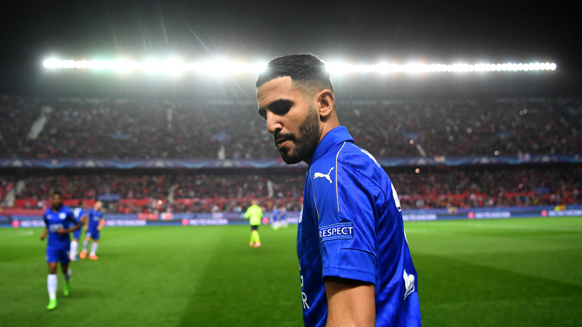 Riyad Mahrez Sevilla Leicester Champions League