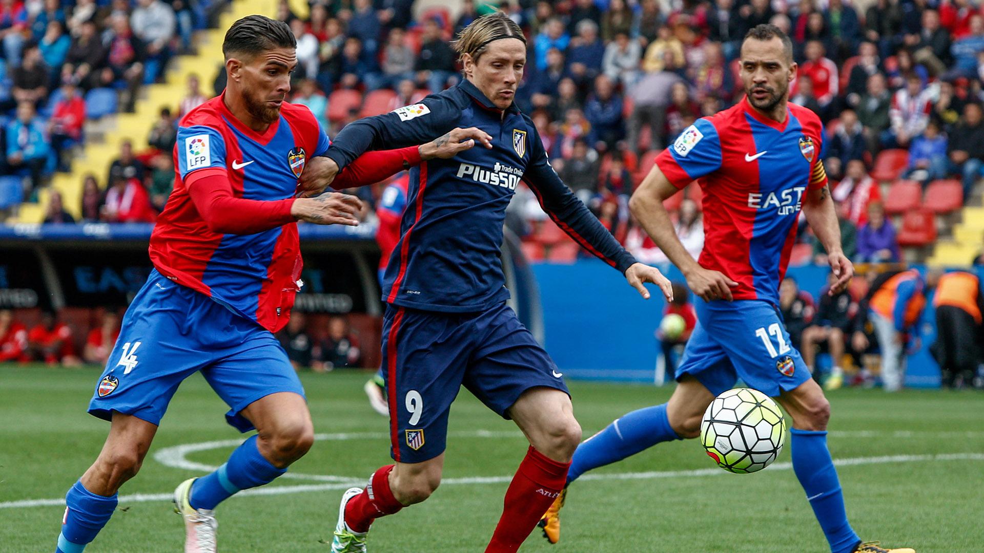 Atlético Madrid cayó 2-1 con Levante y Perdió la Liga BBVA