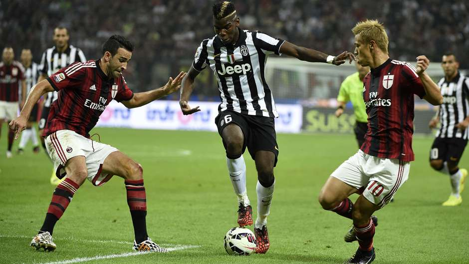 newest collection 23dd9 81cd1 Pogba match worn shirt in Juventus-Milan 2/7/2015, Serie A ...